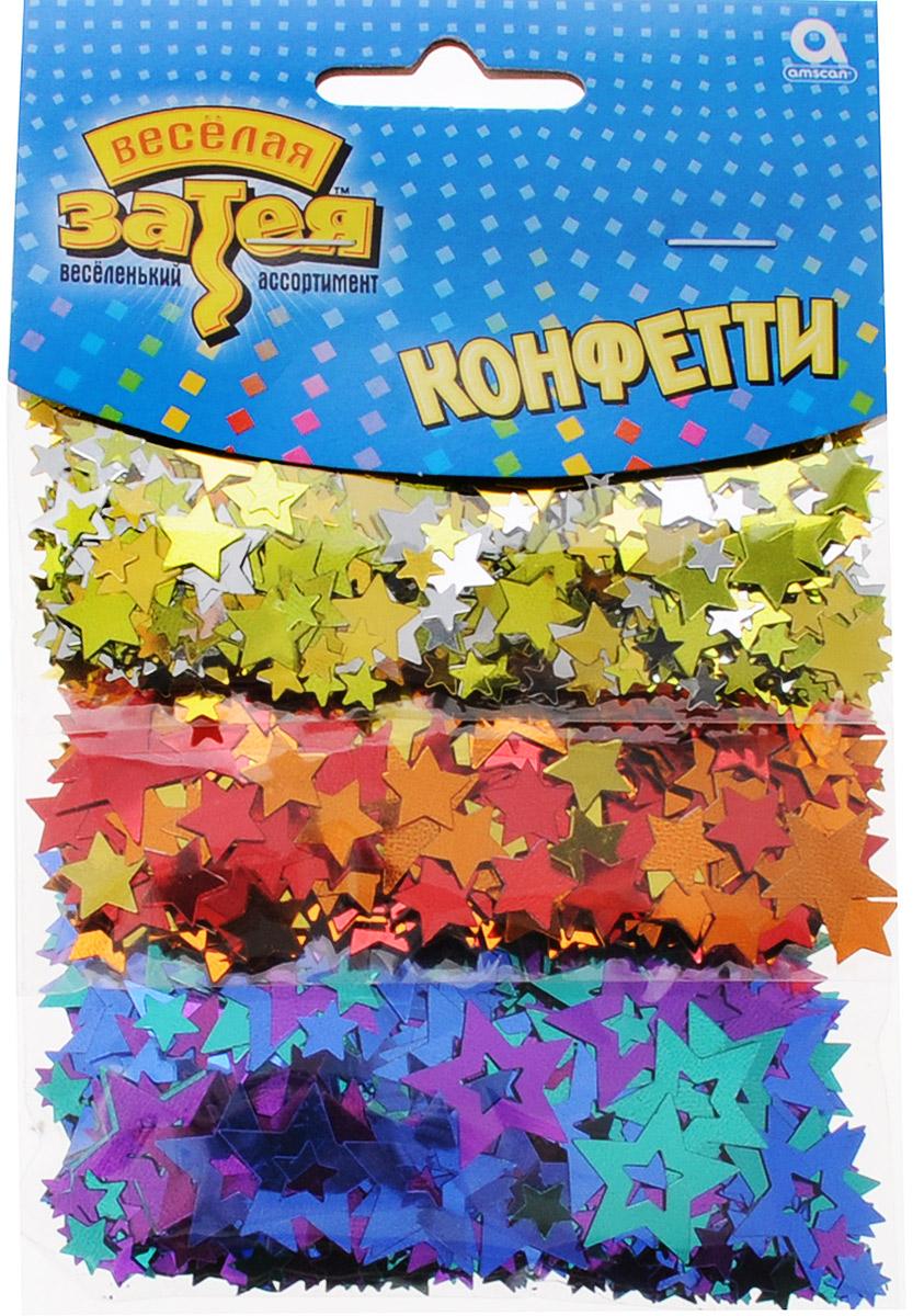 Веселая затея Конфетти Звездный Микс 3 вида 34 г1501-1509Конфетти Звездный Микс представлено в трех дизайнах: звездочки разного размера в золотых, красно-оранжевых и фиолетовых тонах. Яркое конфетти - неотъемлемый атрибут праздников, в основном, балов, карнавалов, триумфальных шествий, а также дней рождений и свадебных торжеств. Конфетти осыпают друг друга участники празднеств или его сбрасывают сверху. Конфетти, рассыпанное на столе, является необычной и привлекательной формой украшения праздничного застолья. Еще один оригинальный способ порадовать друзей и близких - насыпьте конфетти в конверт с открыткой - это будет неожиданный сюрприз! Также конфетти - прекрасный материал для рукоделия.