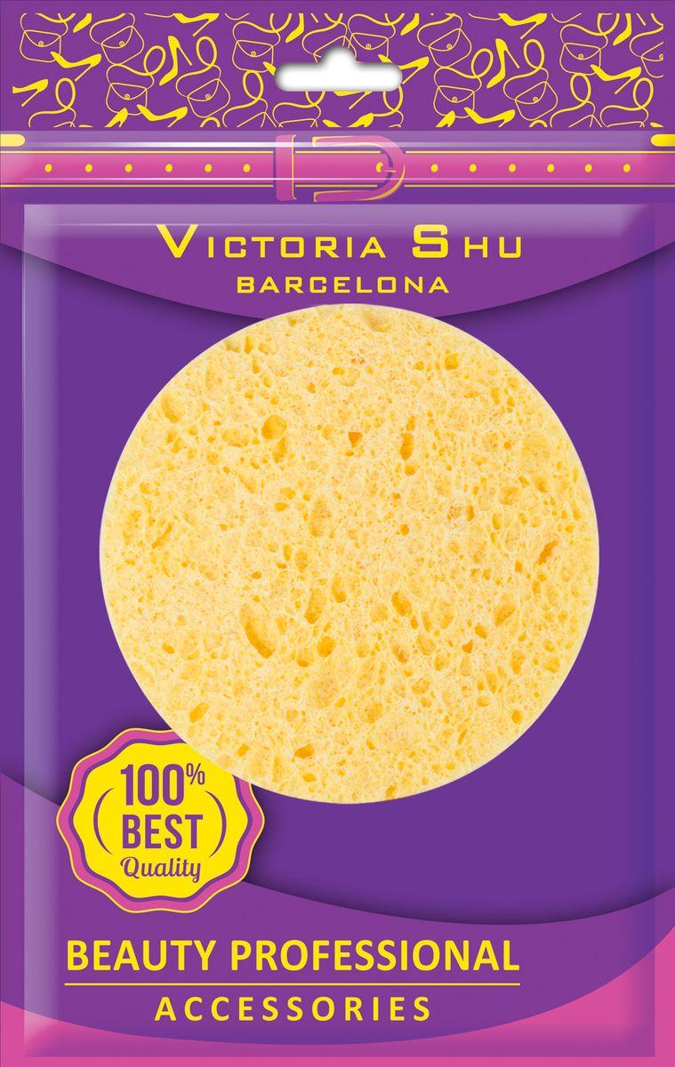 Victoria Shu Спонж для снятия макияжа из натуральной целлюлозы S106, 12 г