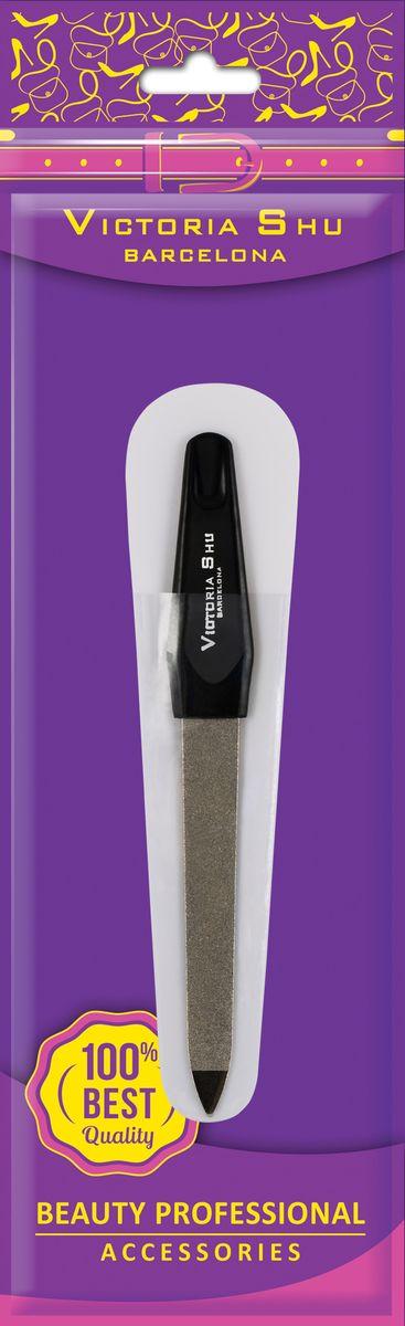Victoria Shu Пилочка для ногтей из нержавеющей стали с сапфировым напылением F306, 12 г
