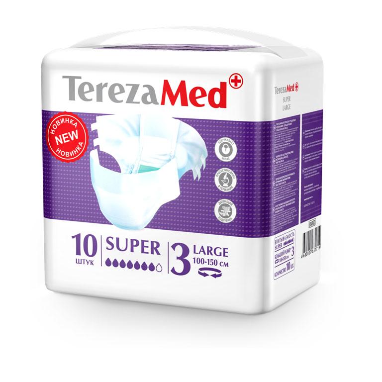 TerezaMed Tereza Med Подгузники для взрослых Super Large (№3) уп.10 16828