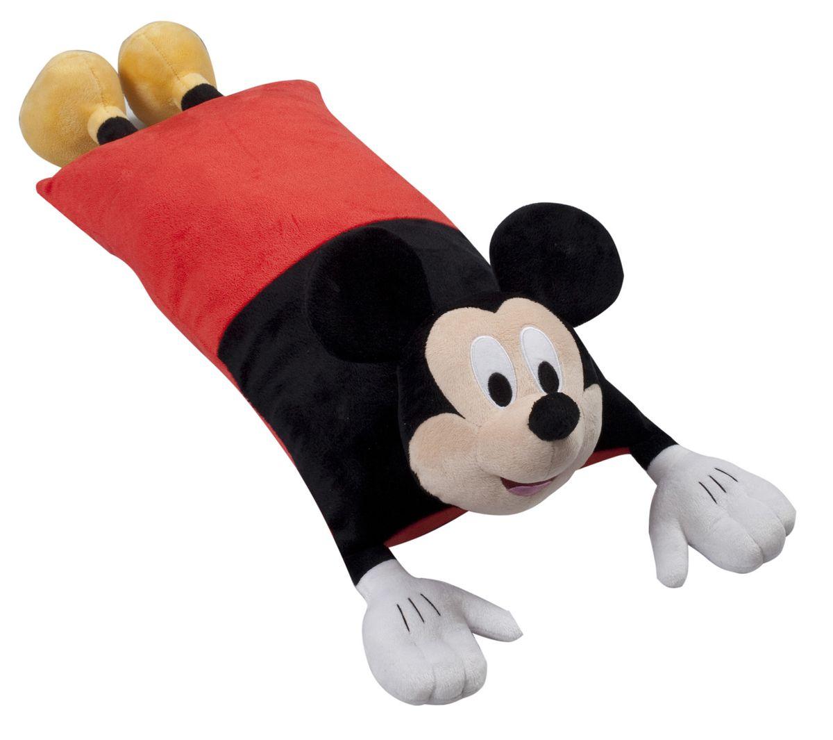 15545 Подушка Mickey Mouse (Микки Маус), размер 50х25 см15545Детская декоративная подушка может использоваться в качестве элемента декора в вашем доме, ну и кроме того, быть настоящей игрушкой для вашего малыша. Данная текстильная продукция занимает высокие позиции на потребительском рынке благодаря своим оригинальным дизайнам и безопасным материалам.