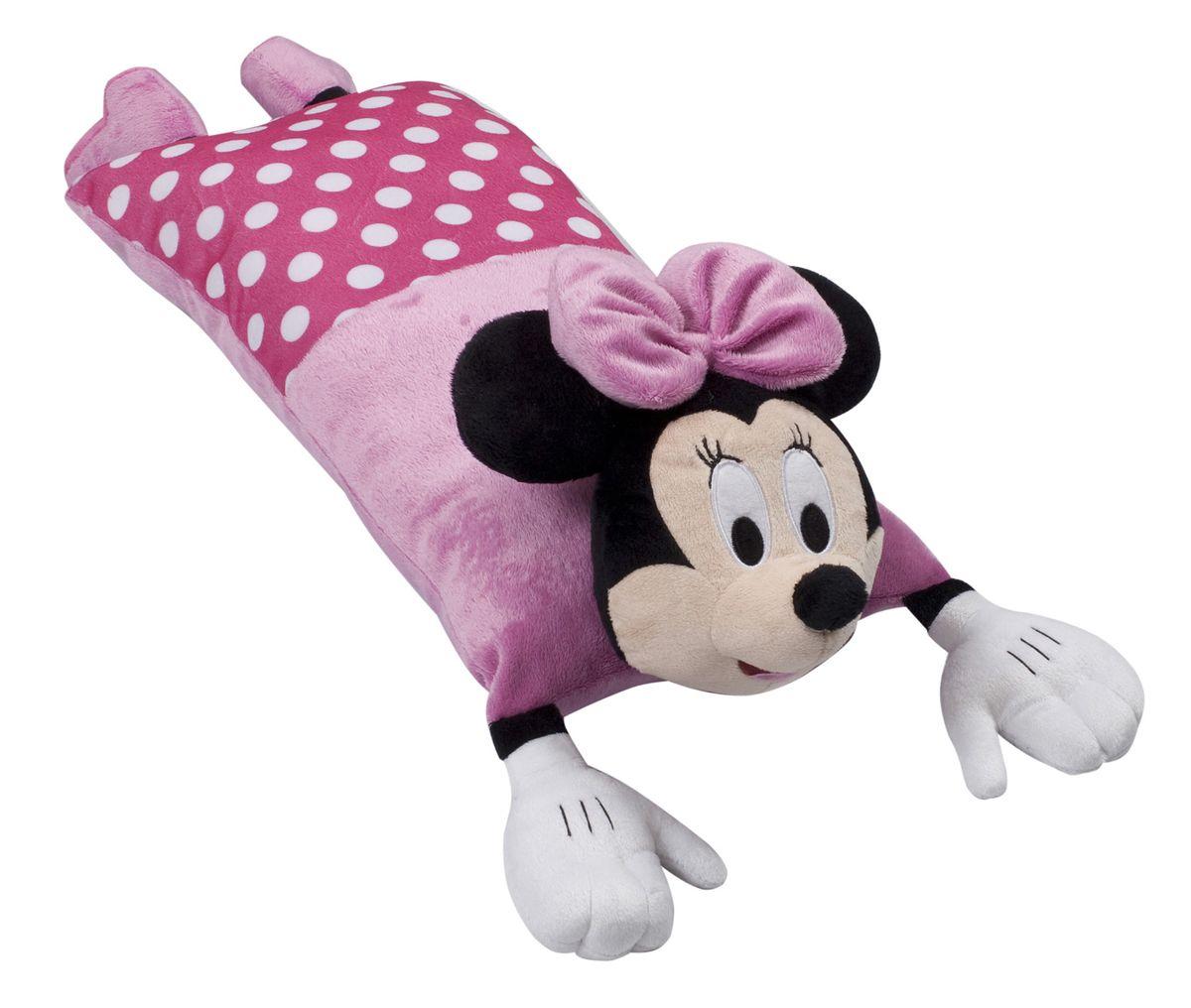 15546 Подушка Minnie Mouse (Минни Маус), размер 50х25 см15546Детская декоративная подушка может использоваться в качестве элемента декора в вашем доме, ну и кроме того, быть настоящей игрушкой для вашего малыша. Данная текстильная продукция занимает высокие позиции на потребительском рынке благодаря своим оригинальным дизайнам и безопасным материалам.