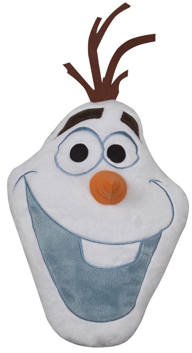 Disney Подушка детская Olaf 1561315613Детская декоративная подушка Disney Olaf может использоваться в качестве элемента декора в вашем доме, а также станет настоящей игрушкой для вашего малыша. Данная текстильная продукция занимает высокие позиции на потребительском рынке благодаря своему оригинальному дизайну и безопасным материалам.