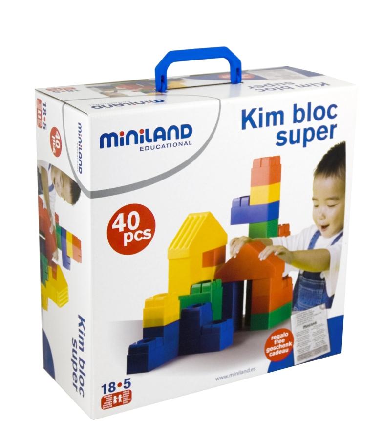Miniland ������ ����������� SUPER (40 �������) - ������ ����������� SUPER (40 �������)32470������ ����������� SUPER �� ��������, ������� � ������� ��������. 40 ������� � ������� ������� �� 1,5 �� 6 ��� . ������������ ������ ������ 21 ��.