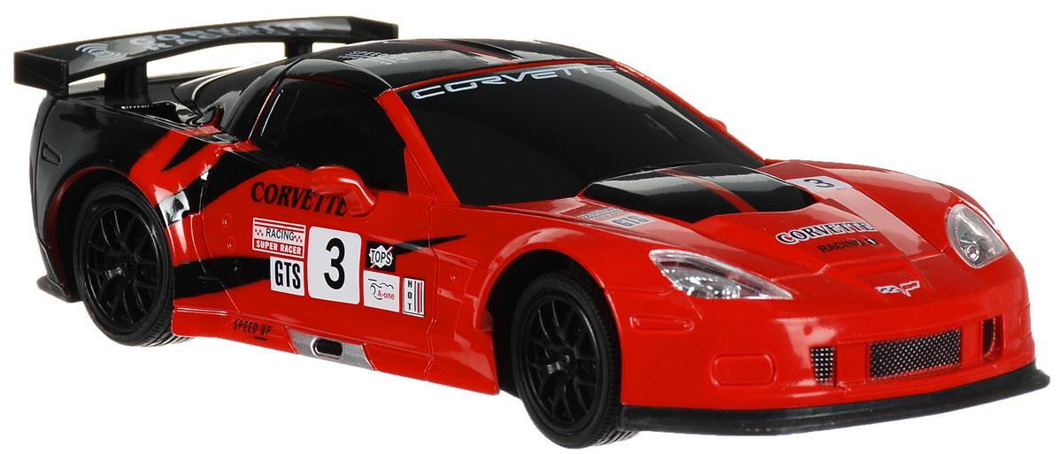 Guokai Машинка инерционная Corvette C6-R цвет красный черный1120870/866-82417_красный, черныйМашинка инерционная Guokai Corvette C6-R, выполненная из безопасных полимерных материалов и резины, станет любимой игрушкой вашего ребенка! Машина является точной уменьшенной копией настоящего автомобиля. Игрушка оснащена инерционным ходом. Машинку необходимо отвести назад, затем отпустить - и она быстро поедет вперед. Прорезиненные колеса обеспечивают надежное сцепление с любой гладкой поверхностью. Ребенок увидит в такой машинке увлекательную и серьёзную игрушку, которая вызовет невероятный всплеск положительных эмоций. Ваш ребенок часами будет играть с такой игрушкой, придумывая различные истории и устраивая соревнования. Эта машинка будет интересна не только детям, но и взрослым коллекционерам. Для работы игрушки необходимы 3 батарейки напряжением 1,5V типа АА (товар комплектуется демонстрационными).