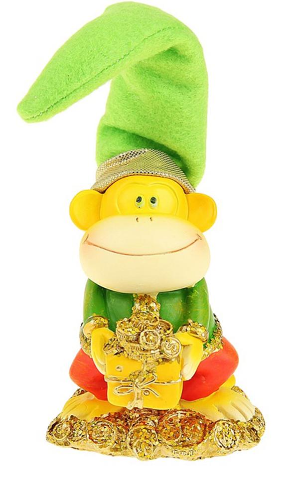 Сувенир Sima-land Обезьянка в колпаке с монетками, высота 12 см1056320Сувенир Sima-land Обезьянка в колпаке с монетками выполнен из высококачественного полистоуна в виде забавной обезьянки в текстильном колпаке. Такой сувенир станет отличным подарком родным или друзьям на Новый год, а также он украсит интерьер вашего дома или офиса.
