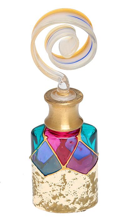 Murano! Флакон для духов. Муранское стекло, золочение, ручная работа. Murano, Италия (Венеция)