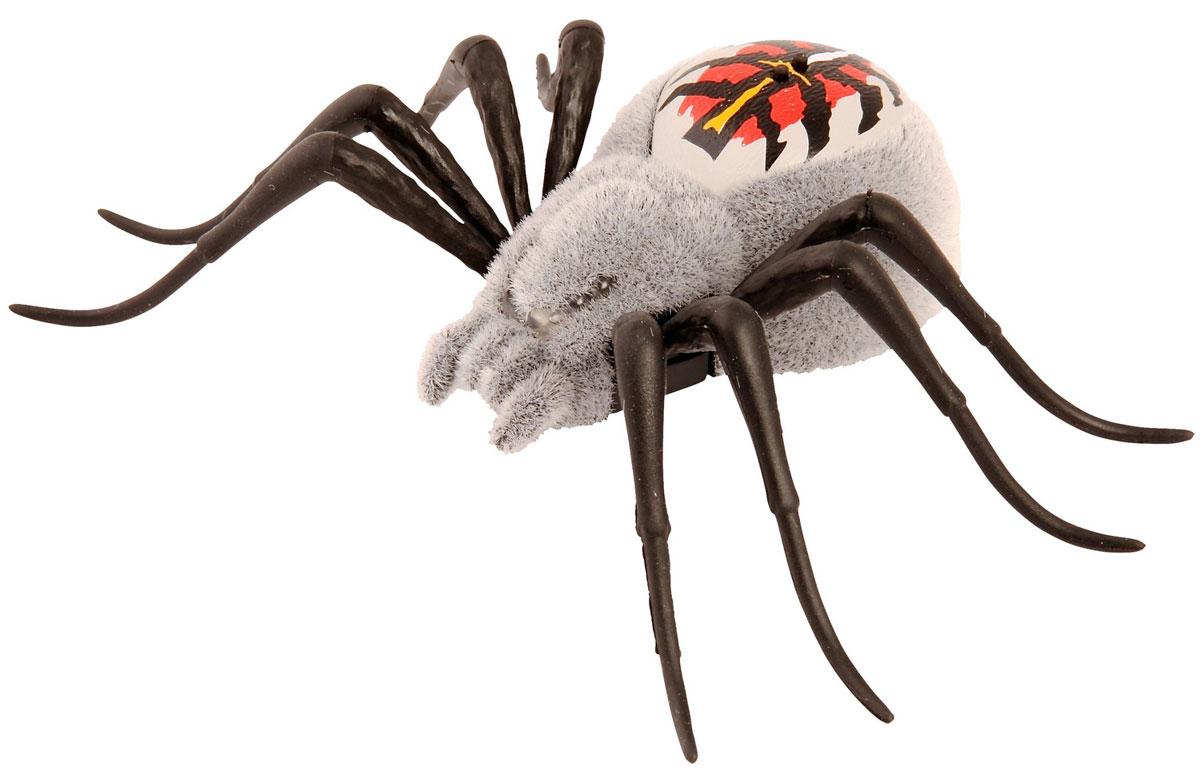 Moose Интерактивный паучок Wild Pets серыйgrey/ast29001 (29005, 29006, 29007, 29014)Новая линейка от Moose заинтригует детей, которые хотят познакомиться с различными животными. Если раньше компания выпускала интерактивные игрушки только в виде домашних питомцев, то теперь настала очередь диких зверей и насекомых. Пока ассортимент линейки Wild Pets ограничивается только пауками, однако он будет постоянно расширяться.@# Интерактивный паук от Moose имеет 3 режима игры. Для того чтобы включить игрушку или перевести ее из одного режима в другой достаточно провести по спине паука. Там расположены два сенсора, до которых нужно дотронуться. Глаза паука загорятся синим, он начнет ползать и искать укромные места, для того чтобы спрятаться.@# Во втором режиме глаза паука загорятся зеленым цветом. Игрушка начинает активнее передвигаться и исследовать окружающую территорию. @# В последнем режиме паук ведет себя более агрессивно. Он передвигается быстрее, может атаковать, а его глаза загораются красным светом. Для того, чтобы перевести его в обычные режимы достаточно еще...