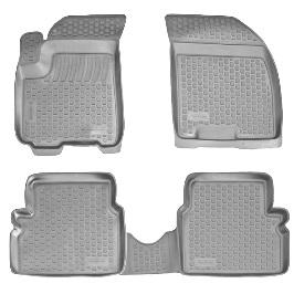 Коврики в салон Chevrolet Epica (06-) серые полиуретан0207090201Коврики производятся индивидуально для каждой модели автомобиля из современного и экологически чистого материала, точно повторяют геометрию пола автомобиля, имеют высокий борт от 3 см до 4 см., обладают повышенной износоустойчивостью, антискользящими свойствами, лишены резкого запаха, сохраняют свои потребительские свойства в широком диапазоне температур (-50 +80 С)