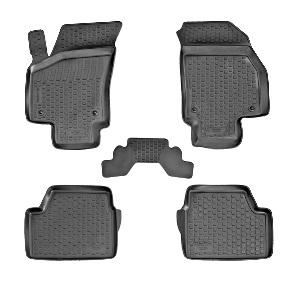 Коврики в салон автомобиля L.Locker, для Opel Astra H sd (07-), 4 шт0211010301Коврики L.Locker производятся индивидуально для каждой модели автомобиля из современного и экологически чистого материала. Изделия точно повторяют геометрию пола автомобиля, имеют высокий борт, обладают повышенной износоустойчивостью, антискользящими свойствами, лишены резкого запаха и сохраняют свои потребительские свойства в широком диапазоне температур (от -50°С до +80°С). Рисунок ковриков специально спроектирован для уменьшения скольжения ног водителя и имеет достаточную глубину, препятствующую свободному перемещению жидкости и грязи на поверхности. Одновременно с этим рисунок не создает дискомфорта при вождении автомобиля. Водительский ковер с предустановленными креплениями фиксируется на штатные места в полу салона автомобиля. Новая технология системы креплений герметична, не дает влаге и грязи проникать внутрь через крепеж на обшивку пола.