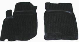 Коврики в салон автомобиля L.Locker, для ТАГАЗ Road Partner (08-), передние, 2 шт0285020201Коврики L.Locker производятся индивидуально для каждой модели автомобиля из современного и экологически чистого материала. Изделия точно повторяют геометрию пола автомобиля, имеют высокий борт, обладают повышенной износоустойчивостью, антискользящими свойствами, лишены резкого запаха и сохраняют свои потребительские свойства в широком диапазоне температур (от -50°С до +80°С). Рисунок ковриков специально спроектирован для уменьшения скольжения ног водителя и имеет достаточную глубину, препятствующую свободному перемещению жидкости и грязи на поверхности. Одновременно с этим рисунок не создает дискомфорта при вождении автомобиля. Водительский ковер с предустановленными креплениями фиксируется на штатные места в полу салона автомобиля. Новая технология системы креплений герметична, не дает влаге и грязи проникать внутрь через крепеж на обшивку пола.