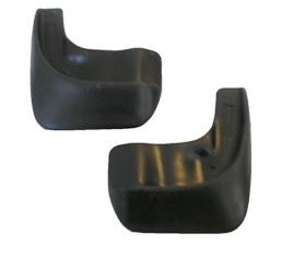 Комплект брызговиков передних для а/м Rexton7018032151Брызговики изготовлены из высококачественного полимера, уникальный состав брызговиков допускает их эксплуатацию в широком диапазоне температур: - 50°С до + 80°С. Эффективно защищают кузов автомобиля от грязи и воды – формируют аэродинамический поток воздуха, создаваемый при движении вокруг кузова таким образом, чтобы максимально уменьшить образование грязевой измороси, оседающей на автомобиле. Разработаны индивидуально для каждой модели автомобиля, с эстетической точки зрения брызговики являются завершением колесной арки.