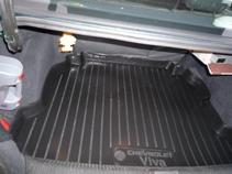 Коврик в багажник Chevrolet Viva sd (04-) полиуретан0107040101Коврики производятся индивидуально для каждой модели автомобиля из современного и экологически чистого материала, точно повторяют геометрию пола автомобиля, имеют высокий борт от 4 см до 6 см., обладают повышенной износоустойчивостью, антискользящими свойствами, лишены резкого запаха, сохраняют свои потребительские свойства в широком диапазоне температур (-50 +80 С).