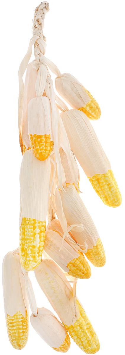 Муляж Кукуруза в связке, цвет: желтый, 60 смC60Муляж Кукуруза в связке изготовлен из полиуретана, окрашен в естественные цвета. Предназначен для украшения интерьера дома. Длина связки: 60 см.