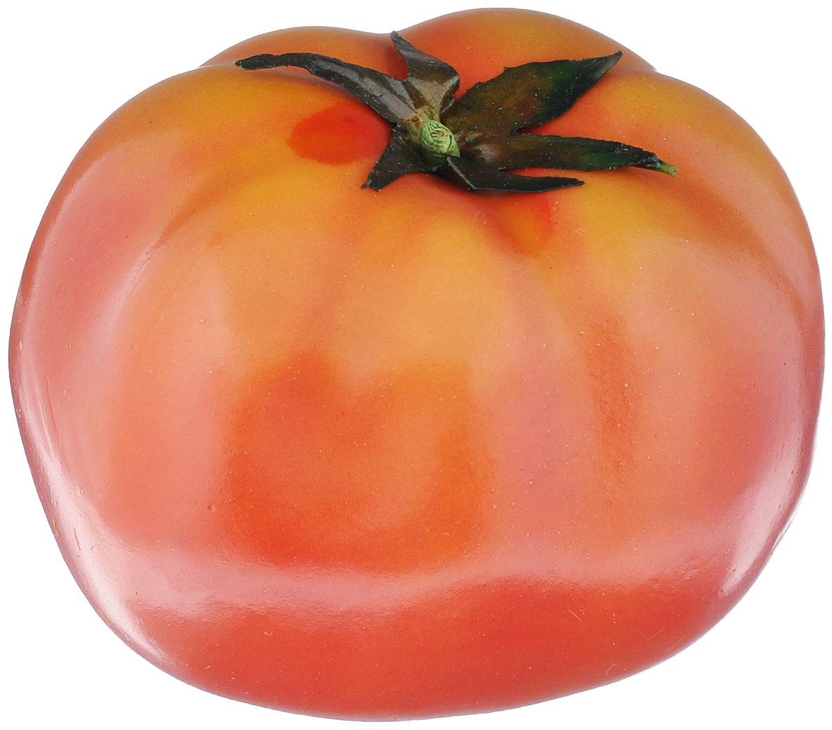 Муляж Томат, цвет: красный, 9 смT9Муляж Томат изготовлен из полиуретана, окрашен в естественные цвета. Предназначен для украшения интерьера дома. Диаметр муляжа: 9 см.