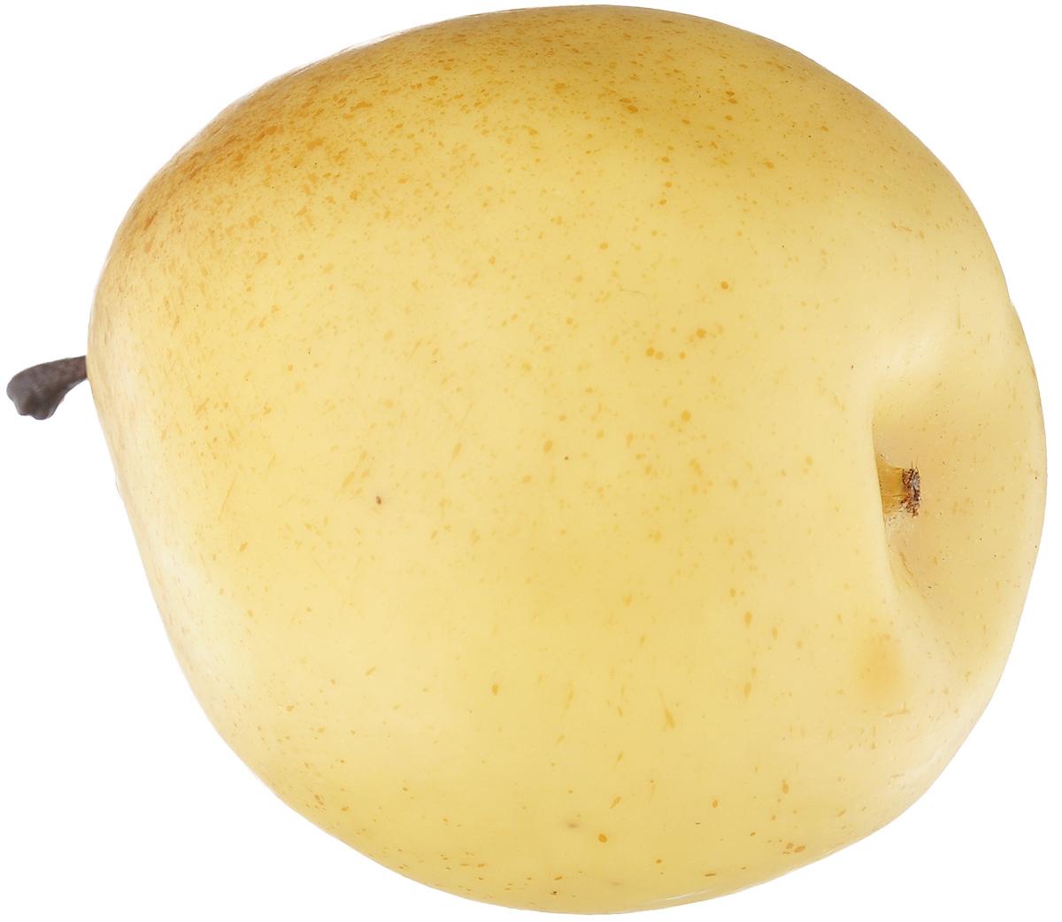Муляж Груша, цвет: желтый, 9,5 смLI95-03Муляж Груша изготовлен из полиуретана, окрашен в естественные цвета. Предназначен для украшения интерьера дома. Высота муляжа: 9,5 см.