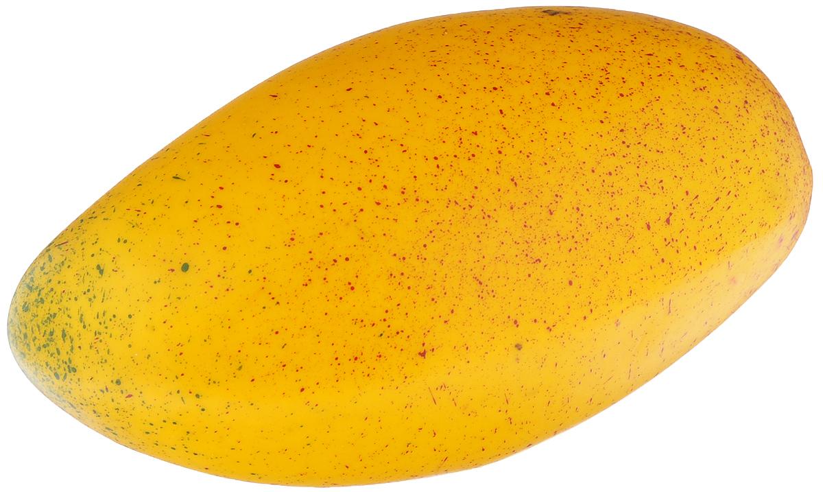 Муляж Манго, цвет: желтый, 13 смMG130Муляж Манго изготовлен из полиуретана, окрашен в естественные цвета. Предназначен для украшения интерьера дома. Высота муляжа: 13 см.