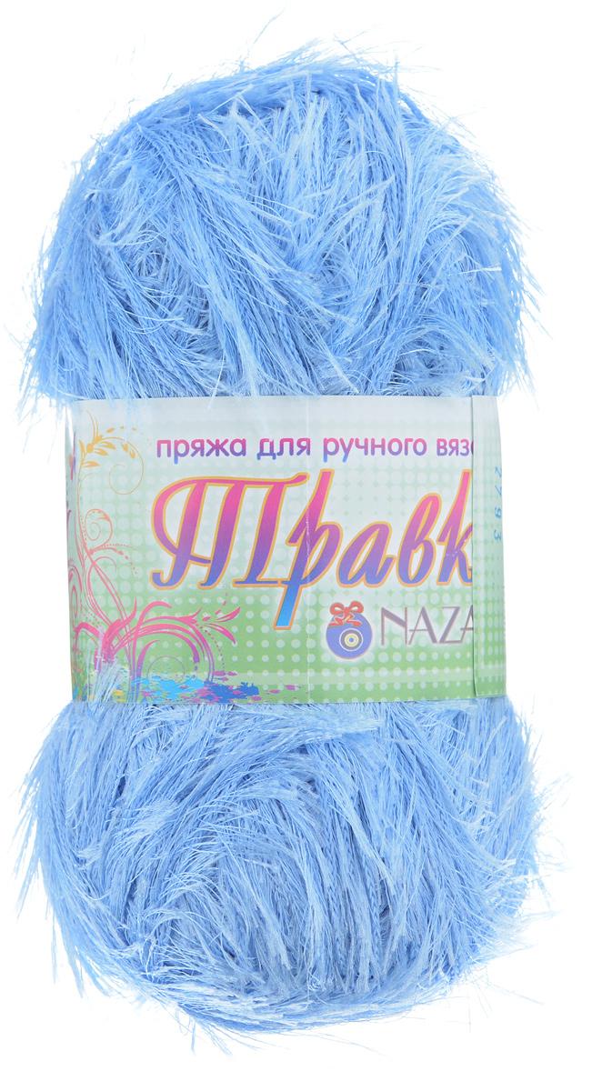 Пряжа для вязания Nazar Травка, цвет: голубой (2793), 150 м, 100 г, 5 шт349001_2793Пряжа для вязания Nazar Травка изготовлена из 100% полиэстера. Это - пряжа с ворсом. Изделия выглядят как меховые, на ощупь очень мягкие и шелковистые. Полотно выглядит пушистым с обеих сторон. Из такой пряжи великолепно получаются коврики и пледы, чехлы для мебели, декоративные наволочки и игрушки, шарфы и палантины. Подходит для вязания на спицах и крючках 4 мм. Состав: 100% полиэстер. Толщина нити: 1,5 мм.