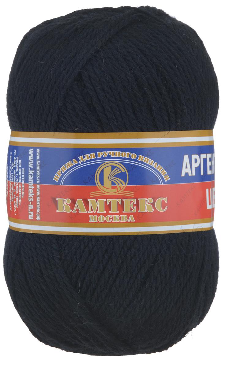 Пряжа для вязания Камтекс Аргентинская шерсть, цвет: черный (003), 200 м, 100 г, 10 шт136071_003Пряжа для вязания Камтекс Аргентинская шерсть - это стопроцентная импортная шерсть, которая отличается прочностью и гладкостью. Даже при взгляде на моток, сразу видно, что вещи из этой пряжи будут выглядеть дорого. Изделия не скатываются и не деформируются. Пряжа очень легка в работе, даже при роспуске полотна, она не цепляется, и не путается. Ниточка безумно теплая и уютная, отлично подходит для нашей морозной зимы. Даже ажурные шапки и шарфы при всей своей тонкости будут самыми надежными защитниками от снега и сильного ветра. Очень хорошо смотрятся из этой шерсти узоры из кос и жгутов. Рекомендуются спицы и крючки для вязания 3-5 мм. Состав: 100% шерсть.