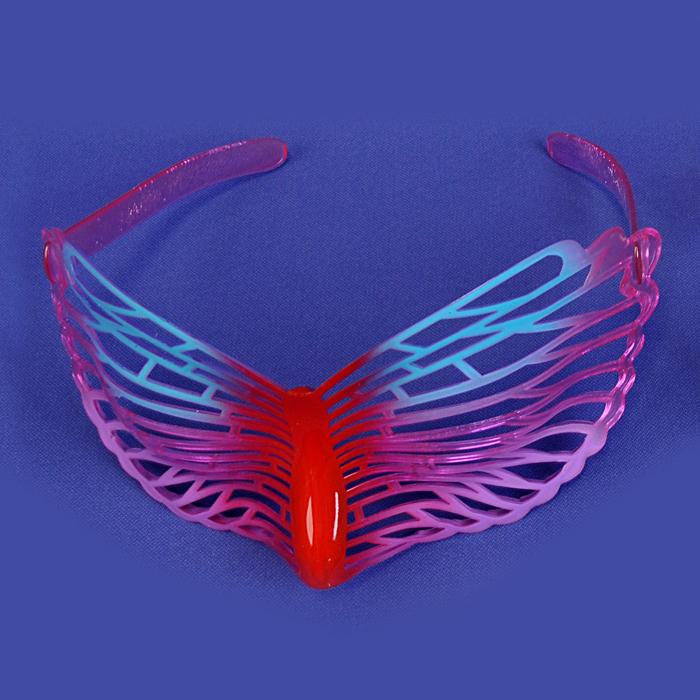 Очки карнавальные Lunten Ranta Летние, цвет: красный, голубой59819_6Карнавальные очки Lunten Ranta Летние помогут создать яркий маскарадный образ и подарят веселое праздничное настроение. Очки выполнены из пластика и декорированы ажурным узором. Если у вас намечается веселая вечеринка или маскарад, то такие очки легко помогут создать праздничную атмосферу. Внесите нотку задора и веселья в ваш праздник. Веселое настроение и масса положительных эмоций будут обеспечены!