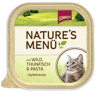Консервы для кошек Шмуси дичь с тунцом, 100 г70034Шмуси натура - это полноценная еда для кошек и котов с множеством натуральных ингредиентов. Корм Шмуси богат содержанием отборного мяса, потому что кошки - это настоящие хищники и нуждаются в пище, богатой белками. В этих ванночках маленькие кусочки мяса смешаны с паштетом. Кроме отборного мяса в этот корм добавлен яблочный жмых, который отлично регулирует деятельность желудка и кишечника, как во время игр, так и во время отдыха. Также добавлен таурин для правильного развития организма кошек. Состав: Отборное мясо, дичь, тунец, лёгкие, печень, мясные субпродукты, паста, яблочный жмых, минеральные вещества. Условия хранения: комнатная температура в закрытом виде, после вскрытия до 2 дней в холодильнике. Состав: Отборное мясо, дичь, тунец, лёгкие, печень, мясные субпродукты, паста, яблочный жмых, минеральные вещества. Особенности: Натуральные компоненты; Без сои, красителей, ароматизаторов, костной муки; Без консервантов