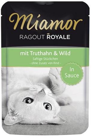 Miamor Консервы для кошек Миамор Королевское Рагу куропатка и дичь в соусе, 100 г 74073
