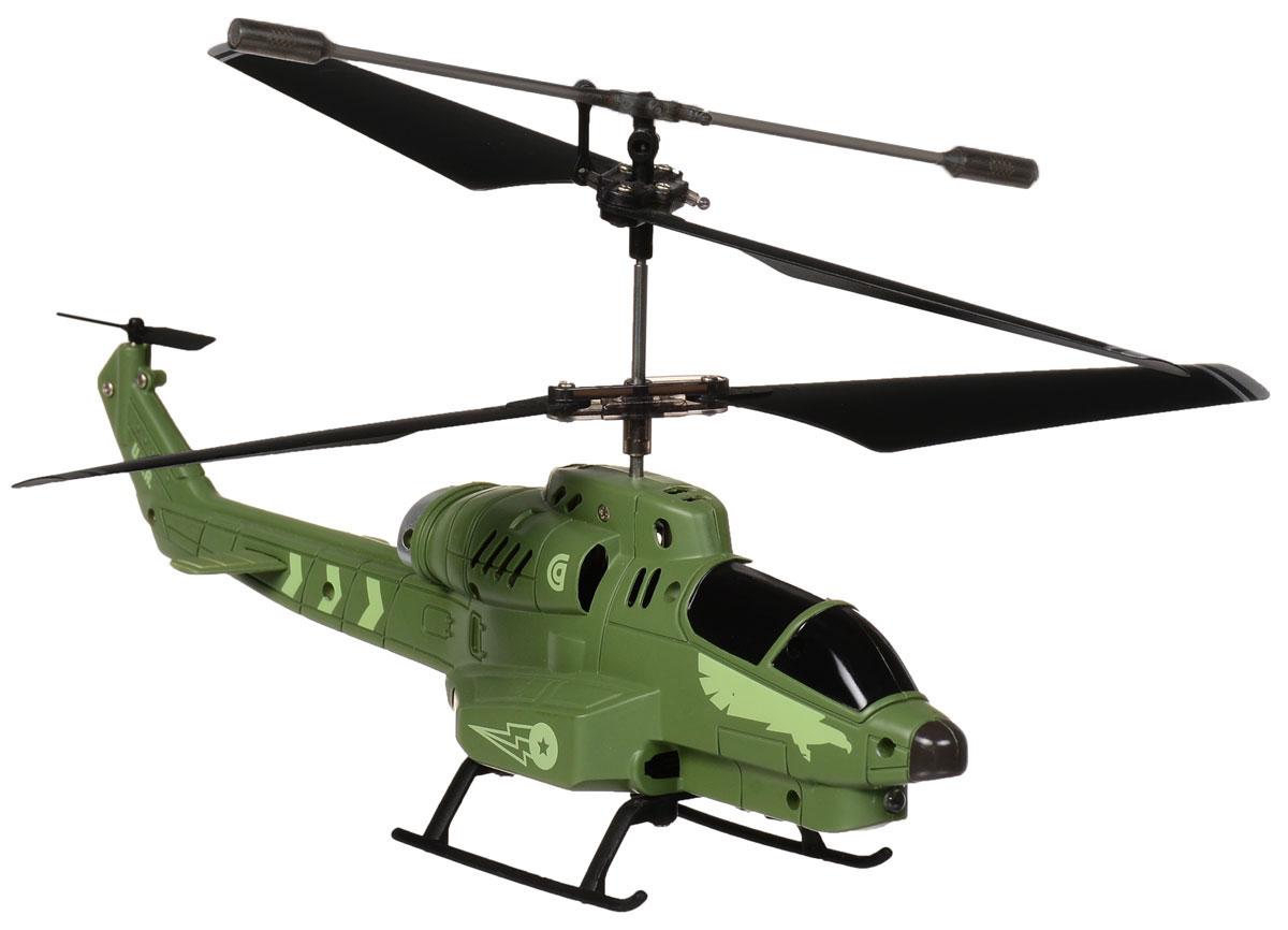 Властелин небес Вертолет на инфракрасном управлении БоецBH 3351Вертолет на инфракрасном управлении Властелин небес Боец обязательно привлечет внимание вашего ребенка. Игрушка, выполненная из легкого металла и пластика, имеет очень точную детализацию. Вертолет двигается вверх, вниз, вправо и влево, может выполнять повороты и зависание в воздухе. Игрушка управляется с помощью дистанционного пульта с инфракрасным управлением и предназначена для игры в помещении. Вертолет оснащен ярким прожектором. Дальность управления - до 10 метров. Полностью заряженный вертолет летает 6-7 минут. Игрушка развивает многочисленные способности ребенка - мелкую моторику, пространственное мышление, реакцию и логику. Вертолет работает от встроенного аккумулятора, заряжается от пульта управления и USB- кабеля (входит в комплект). Для работы пульта управления необходимо купить 6 батареек напряжением 1,5V типа АА (в комплект не входят).