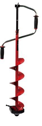 Ледобур VISTA RHXL-7175 (удлин. шнек) 175мм., сферические ножи479821.Двуручный. Вращение правое (по часовой стрелке) 2. Ручки – морозоустойчивый, рифленый пластик. 3. Современная конструкция замка. 4. Выдвижная штанга-удлинитель. 5. Шнек (модель RHXL с удлиненным шнеком), витки шнека без сварки. 6. Режущая головка ледобура имеет ребро жесткости. 7. Ножи – сферические. 8. Упаковка – индивидуальная картонная коробка. 9. Диаметр сверления 175 мм 10. Вес 4,3 кг.