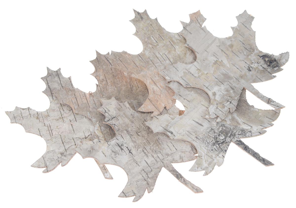 Декоративный элемент Dongjiang Art, цвет: натуральное дерево, 6 шт. 77090137709013_ нат/деревоДекоративные элементы Dongjiang Art, изготовленные из натуральной коры дерева в виде кленовых листьев, предназначены для украшения цветочных композиций. Такие элементы могут пригодиться во флористике и многом другом. Флористика - вид декоративно-прикладного искусства, который использует живые, засушенные или консервированные природные материалы для создания флористических работ. Это целый мир, в котором есть место и строгому математическому расчету, и вдохновению. Средний размер элементов: 8,5 см х 10 см.