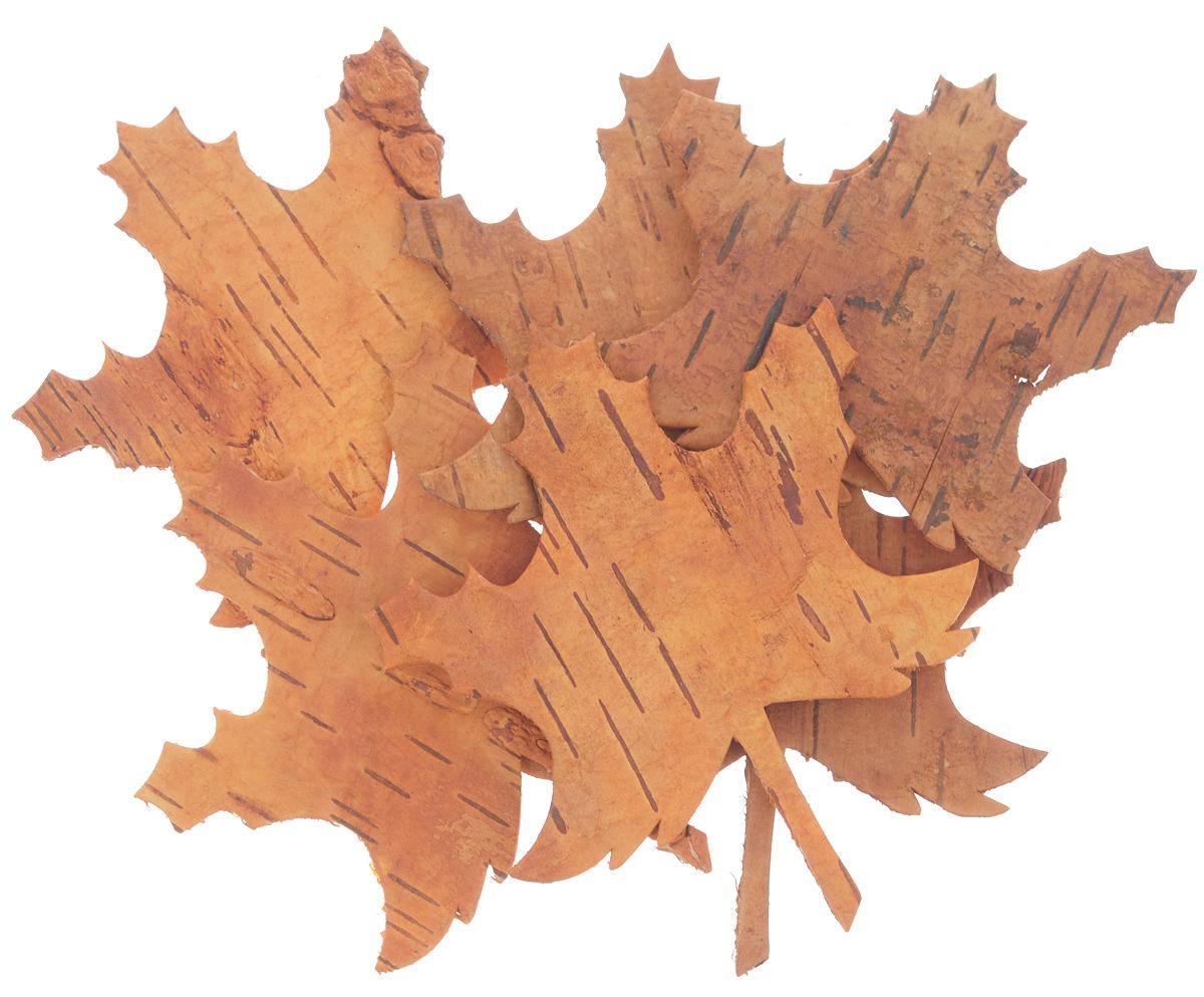 Декоративный элемент Dongjiang Art, цвет: оранжевый, 6 шт. 77090137709013_ оранжевыйДекоративные элементы Dongjiang Art, изготовленные из натуральной коры дерева в виде кленовых листьев, предназначены для украшения цветочных композиций. Такие элементы могут пригодиться во флористике и многом другом. Флористика - вид декоративно-прикладного искусства, который использует живые, засушенные или консервированные природные материалы для создания флористических работ. Это целый мир, в котором есть место и строгому математическому расчету, и вдохновению. Средний размер элементов: 8,5 см х 10 см.