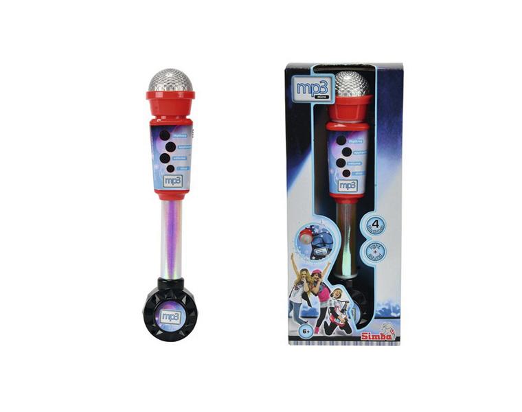 Simba Микрофон совместимый с mp3, 4 ритма6830401
