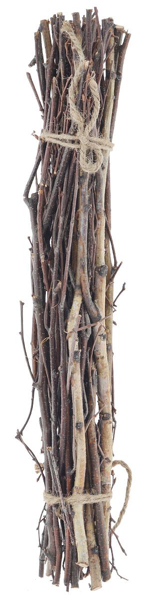 Декоративные элементы Dongjiang Art, цвет: натуральное дерево, длина 50 см. 77090217709021_ нат/деревоДекоративный элемент Dongjiang Art Ветки изготовлен из дерева. Изделие предназначено для декорирования. Изделие может пригодиться во флористике и многом другом. Флористика - вид декоративно-прикладного искусства, который использует живые, засушенные или консервированные природные материалы для создания флористических работ. Это целый мир, в котором есть место и строгому математическому расчету, и вдохновению, полету фантазии. Средняя длина ветки: 50 см.