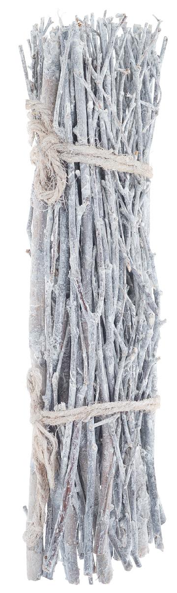 Декоративный элемент Dongjiang Art, цвет: белый, длина 30 см. 77090277709027_белыйДекоративный элемент Dongjiang Art, изготовленный из натурального дерева, предназначен для декорирования. Изделие представляет собой ветки разной толщины и может пригодиться во флористике. Флористика - вид декоративно-прикладного искусства, который использует живые, засушенные или консервированные природные материалы для создания флористических работ. Это целый мир, в котором есть место и строгому математическому расчету, и вдохновению, полету фантазии. Длина веток: 30 см. Средняя толщина веток: 5 мм.