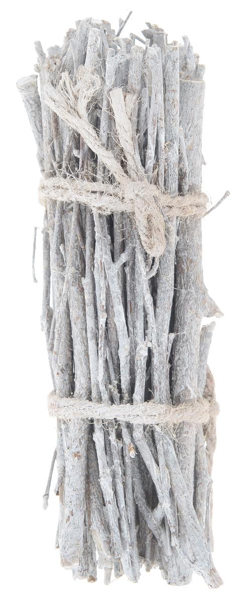 Декоративный элемент Dongjiang Art, цвет: белый, длина 20 см. 77090287709028_ белыйДекоративный элемент Dongjiang Art, изготовленный из натурального дерева, предназначен для декорирования. Изделие представляет собой связку хвороста и может пригодиться во флористике. Флористика - вид декоративно-прикладного искусства, который использует живые, засушенные или консервированные природные материалы для создания флористических работ. Это целый мир, в котором есть место и строгому математическому расчету, и вдохновению, полету фантазии. Длина веток: 20 см. Средняя толщина веток: 5 мм.