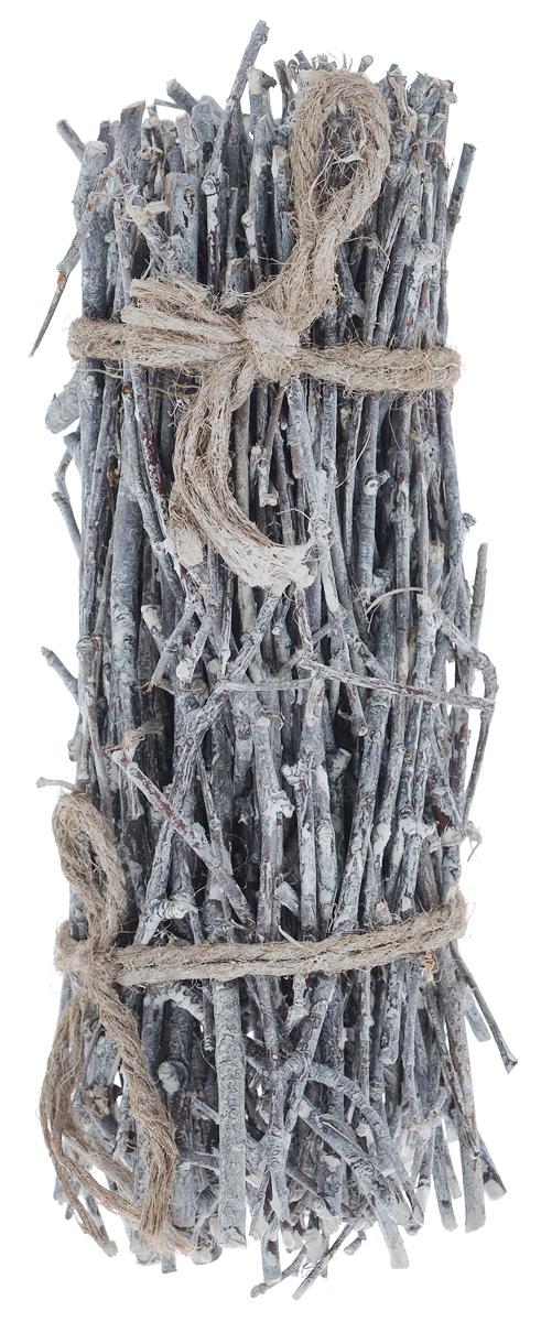 Декоративный элемент Dongjiang Art, цвет: белый, длина 30 см. 77090237709023_белыйДекоративный элемент Dongjiang Art, изготовленный из натурального дерева, предназначен для декорирования. Изделие представляет собой ветки разной толщины и может пригодиться во флористике. Флористика - вид декоративно-прикладного искусства, который использует живые, засушенные или консервированные природные материалы для создания флористических работ. Это целый мир, в котором есть место и строгому математическому расчету, и вдохновению, полету фантазии. Длина веток: 30 см. Средняя толщина веток: 4 мм.