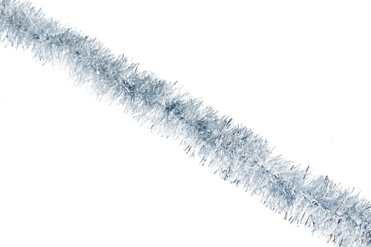 Мишура новогодняя Sima-land, цвет: серебристый, диаметр 6,5 см, длина 140 см. 627195627195_серебристыйНовогодняя мишура Sima-land, выполненная из фольги, поможет вам украсить свой дом к предстоящим праздникам. А новогодняя елка с таким украшением станет еще наряднее. Мишура армирована, то есть имеет проволоку внутри и способна сохранять приданную ей форму. Новогодней мишурой можно украсить все, что угодно - елку, квартиру, дачу, офис - как внутри, так и снаружи. Можно сложить новогодние поздравления, буквы и цифры, мишурой можно украсить и дополнить гирлянды, можно выделить дверные колонны, оплести дверные проемы. Коллекция декоративных украшений принесет в ваш дом ни с чем несравнимое ощущение праздника! Создайте в своем доме атмосферу тепла, веселья и радости, украшая его всей семьей.