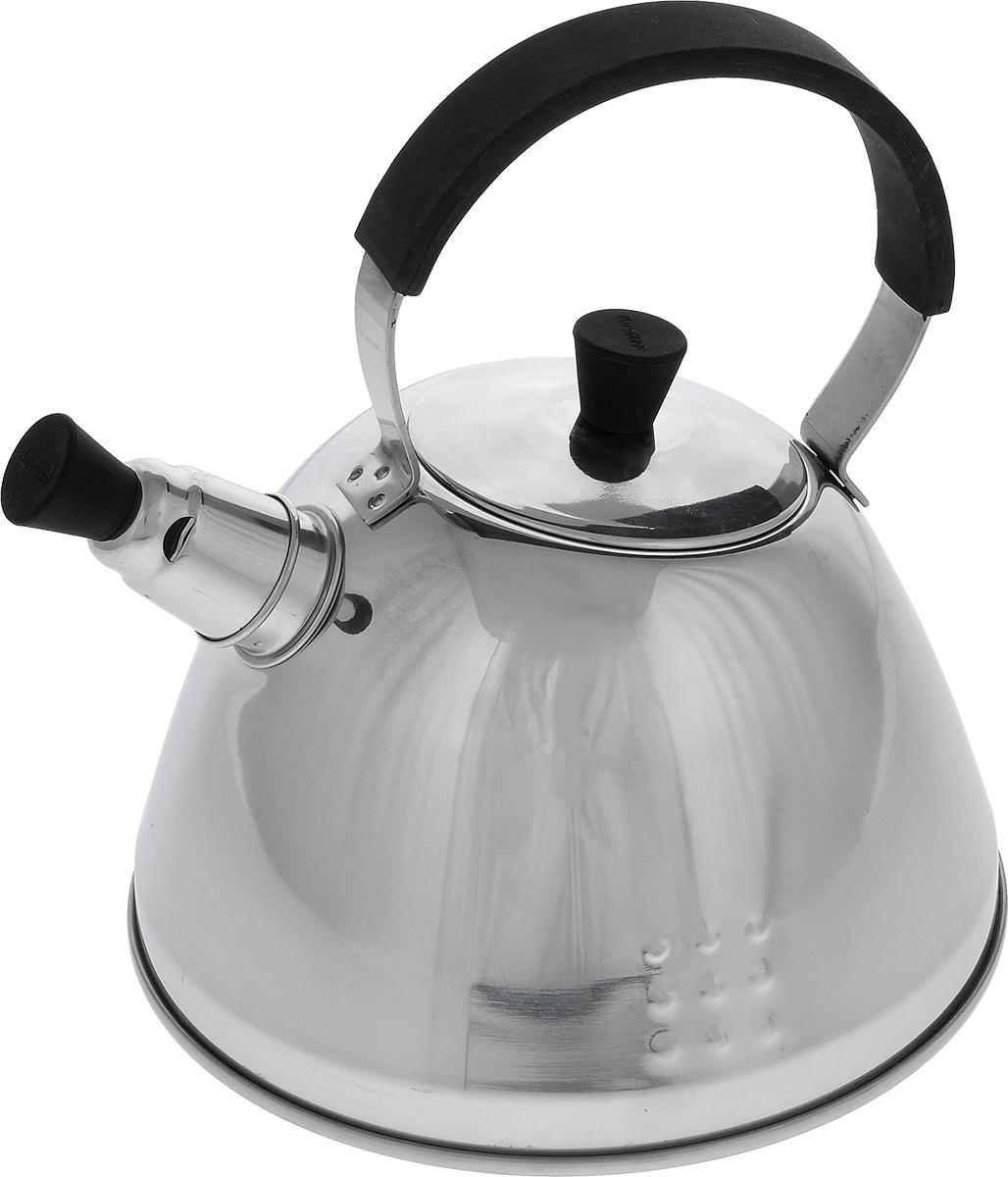 Чайник заварочный BergHOFF Orion, со свистком, 1,2 л1104737Чайник заварочный BergHOFF Orion изготовлен из высококачественной нержавеющей стали 18/10. Гладкая и ровная зеркальная поверхность существенно облегчает уход. Эргономичная ручка из бакелита с покрытием soft-touch делает использование чайника очень удобным и безопасным. Носик чайника имеет насадку-свисток, что позволит вам контролировать процесс подогрева или кипячения воды. Мелкосетчатый фильтр из нержавеющей стали позволяет насладится чаем без попадания чаинок в вашу чашку. Термокапсульное дно при кипячении сохраняет все полезные свойства воды. Подходит для всех типов плит, включая индукционные. Можно мыть в посудомоечной машине. Диаметр чайника (по верхнему краю): 7,5 см. Высота чайника (с учетом ручки): 22 см. Высота чайника (без учета ручки): 12,5 см. Размер фильтра: 7,3 см х 6,7 см х 5,5 см.
