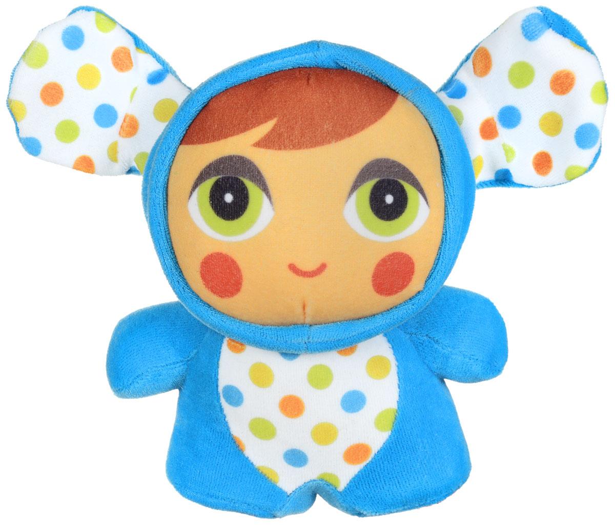 Mommy Love Развивающая игрушка Глазки в глазки цвет голубой