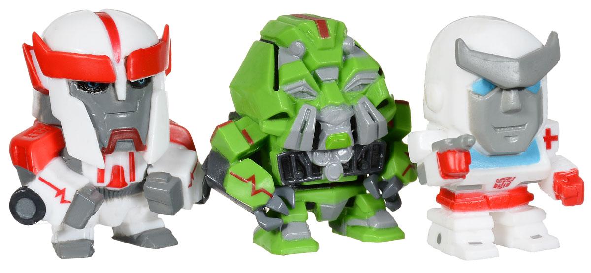 ФОТО transformers Набор фигурок цвет белый зеленый 3 шт