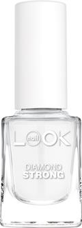Nail LOOK Алмазное средство для укрепления ногтей, 12мл40102Алмазные микрочастицы в составе средства создают плотное, гладкое и блестящее покрытие, защищающее ногти от механических повреждений. Содержащийся в составе запатентованный альдегид делает ногтевую пластину более твердой и крепкой. Регулярное применение средства в течение 4 недель превращает тонкие и слабые ногти в здоровые, сильные и хорошо растущие ногти. Средство рекомендуется для слоящихся ногтей.