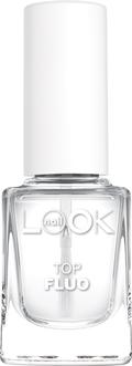 Nail LOOK Флуоресцентное верхнее покрытие, 12 мл40142создает на ногтевой пластине плотную глянцевую пленку · флюоресцирует в дискотечном освещении · обеспечивает мгновенное оптическое отбеливание ногтей