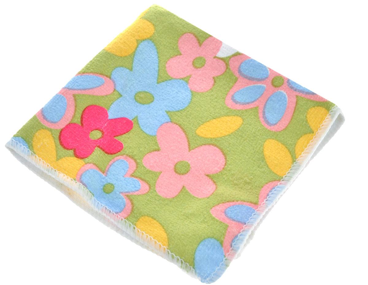 Салфетка для уборки Youll Love Цветы, цвет: салатовый, розовый, желтый, 30 см х 30 см58042_салатовыйСалфетка Youll Love Цветы, изготовленная из 20% полиамида и 80% полиэфира, предназначена для очищения загрязнений на любых поверхностях. Изделие обладает высокой износоустойчивостью и рассчитано на многократное использование, легко моется в теплой воде с мягкими чистящими средствами. Супервпитывающая салфетка не оставляет разводов и ворсинок, удаляет большинство жирных и маслянистых загрязнений без использования химических средств.