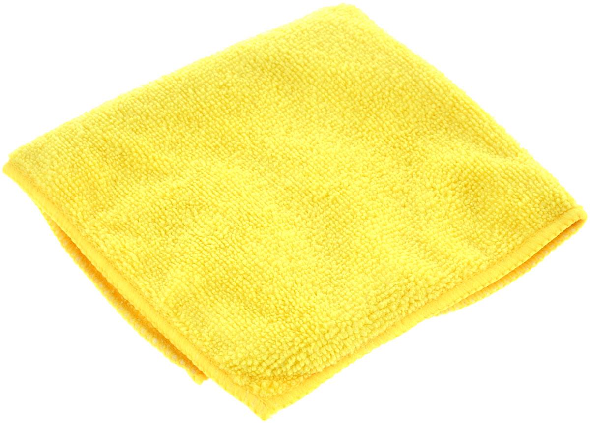 Салфетка универсальная La Chista, цвет: желтый, 30 х 30 см870144_желтыйУниверсальная салфетка La Chista, изготовленная из 80% полиэстера и 20% полиамида, обладает идеальными для ежедневной уборки свойствами. Она прекрасно подойдет, как для влажной, так и для сухой уборки. Не оставляет ворсинок и разводов, прекрасно впитывает воду, хорошо стирается и сохраняет свои свойства после многократного использования. Салфетку можно использовать с любыми чистящими средствами.