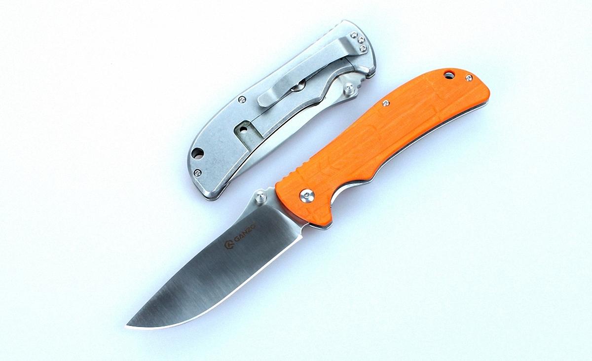 Нож Ganzo G723 оранжевый