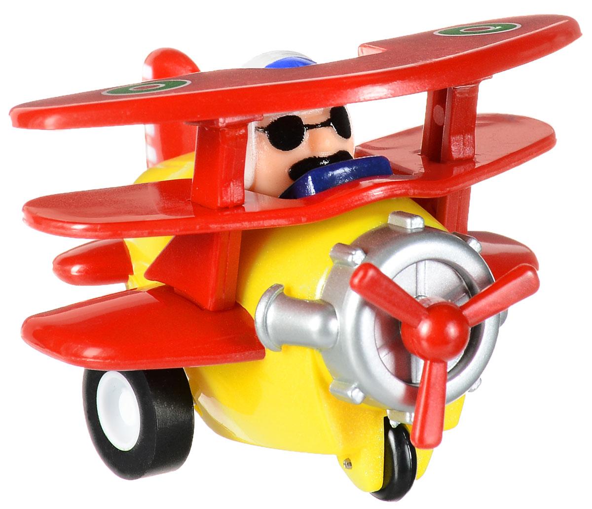 Hans Самолет инерцеонныйPP-3BD_красный, желтыйИнерционная игрушка Hans Самолет обязательно понравится малышу и станет его любимой игрушкой! Игрушка оснащена инерционным механизмом движения - достаточно откатить самолет назад и отпустить, и он помчится вперед! Игрушка развивает цветовое восприятие ребенка, мелкую моторику рук и внимание.