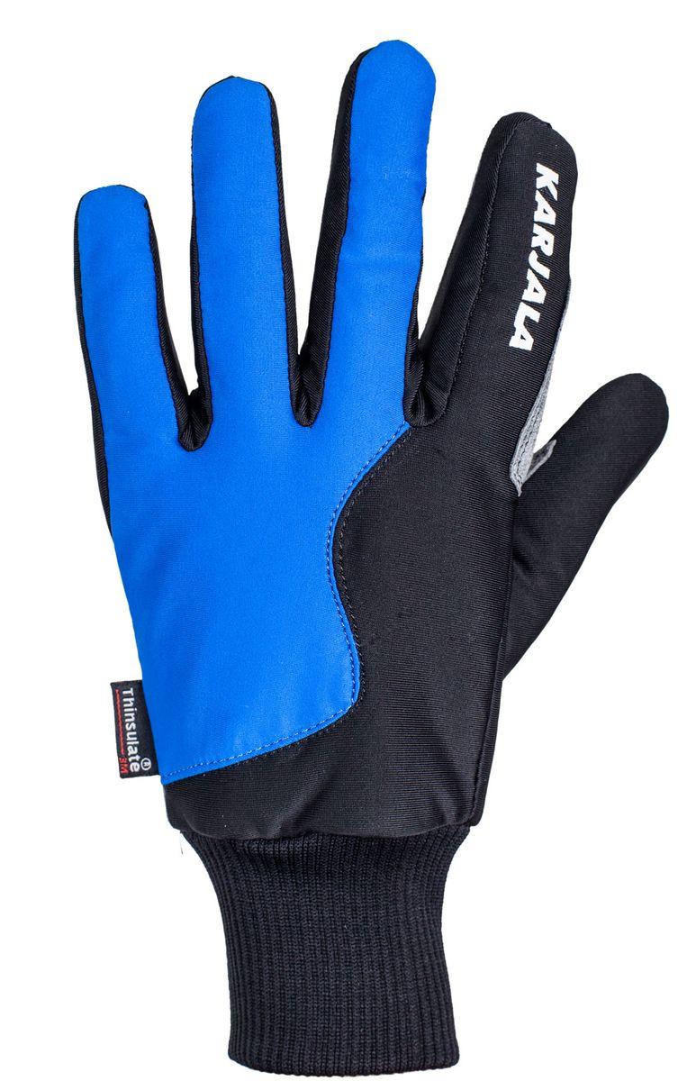 Karjala (Карелия) Перчатки лыжные Karjala, размер XXL, цвет: синий
