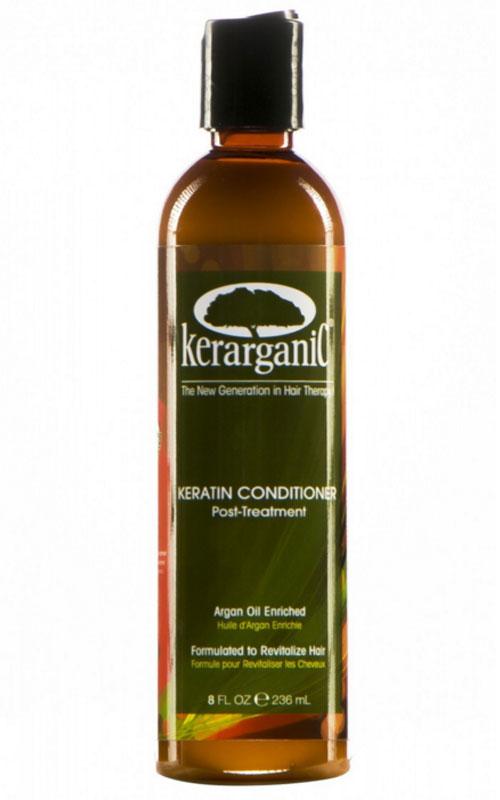 KerarganiC Кондиционер кератиновый Argan oil, 236 мл55Разглаживающий кератиновый кондиционер «Kerarganic» глубоко питает и восстанавливает волосы на клеточном уровне, обеспечивает легкость расчесывания. Формула кондиционера обогащена натуральными маслами какао и арганы - для питания, обновления и увлажнения кожи и структуры волос. Гидропротеины шелка обладают влагоудерживающим свойством и способностью обволакивать волос дополнительным защитным слоем, сохраняя естественный гидро-липидный баланс и предупреждая пересыхание и ломкость волос.