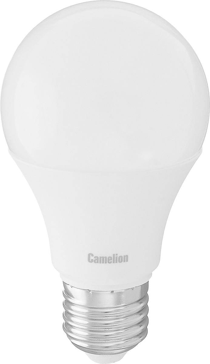Лампа светодиодная Camelion, теплый свет, цоколь Е27, 9W9-A60/830/E27Энергосберегающая лампа Camelion - это инновационное решение, разработанное на основе новейших светодиодных технологий (LED) для эффективной замены любых видов галогенных или обыкновенных ламп накаливания во всех типах осветительных приборов. Она хорошо подойдет для освещения квартир, гостиниц и ресторанов. Лампа не содержит ртути и других вредных веществ, экологически безопасна и не требует утилизации, не выделяет при работе ультрафиолетовое и инфракрасное излучение. Гарантия производителя 3 года. Напряжение: 220-240 В / 50 Гц. Индекс цветопередачи (Ra): 82+. Угол светового пучка: 270°. Использовать при температуре: от -30° до +40°.