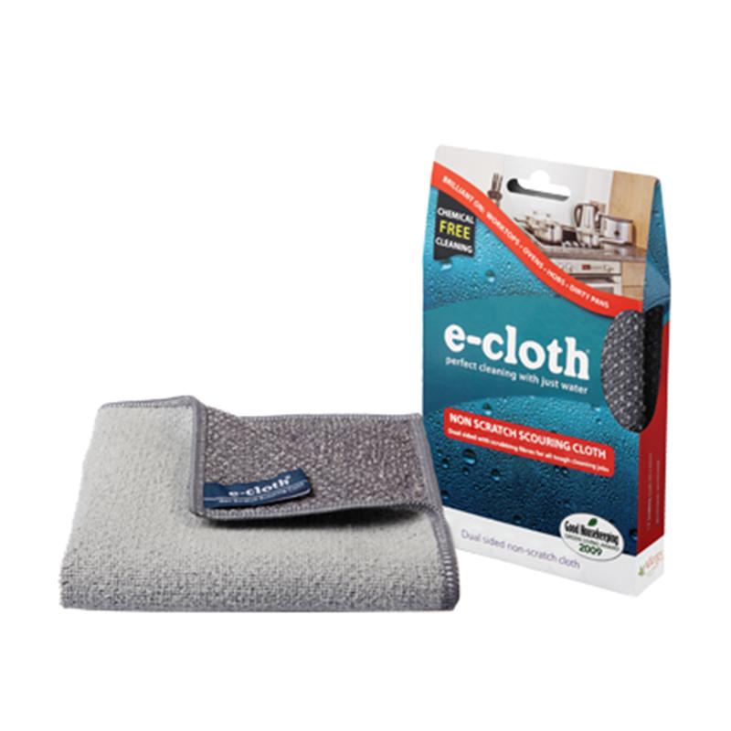 Салфетка для кухни E-cloth, 32 см х 32 см20416Салфетка E-cloth - это готовое решение для поддержания кухни в чистоте без использования химических средств. Изделие выполнено на 85% из полиэстера и на 15% из полиамида. Двусторонняя салфетка специально разработана для очистки всех кухонных поверхностей и мытья посуды. Легко удаляет жир, отпечатки пальцев и бактерии без использования химикатов. Достаточно лишь смочить салфетку водой для очистки поверхности от жира и других загрязнений. Шероховатая сторона салфетки предназначена для очистки въевшихся загрязнений, а гладкая - для окончательной очистки и полировки. Удаляет свыше 99% бактерий. Выдерживает до 300 циклов стирки без потери эффективности. Размер салфетки: 32 см х 32 см.