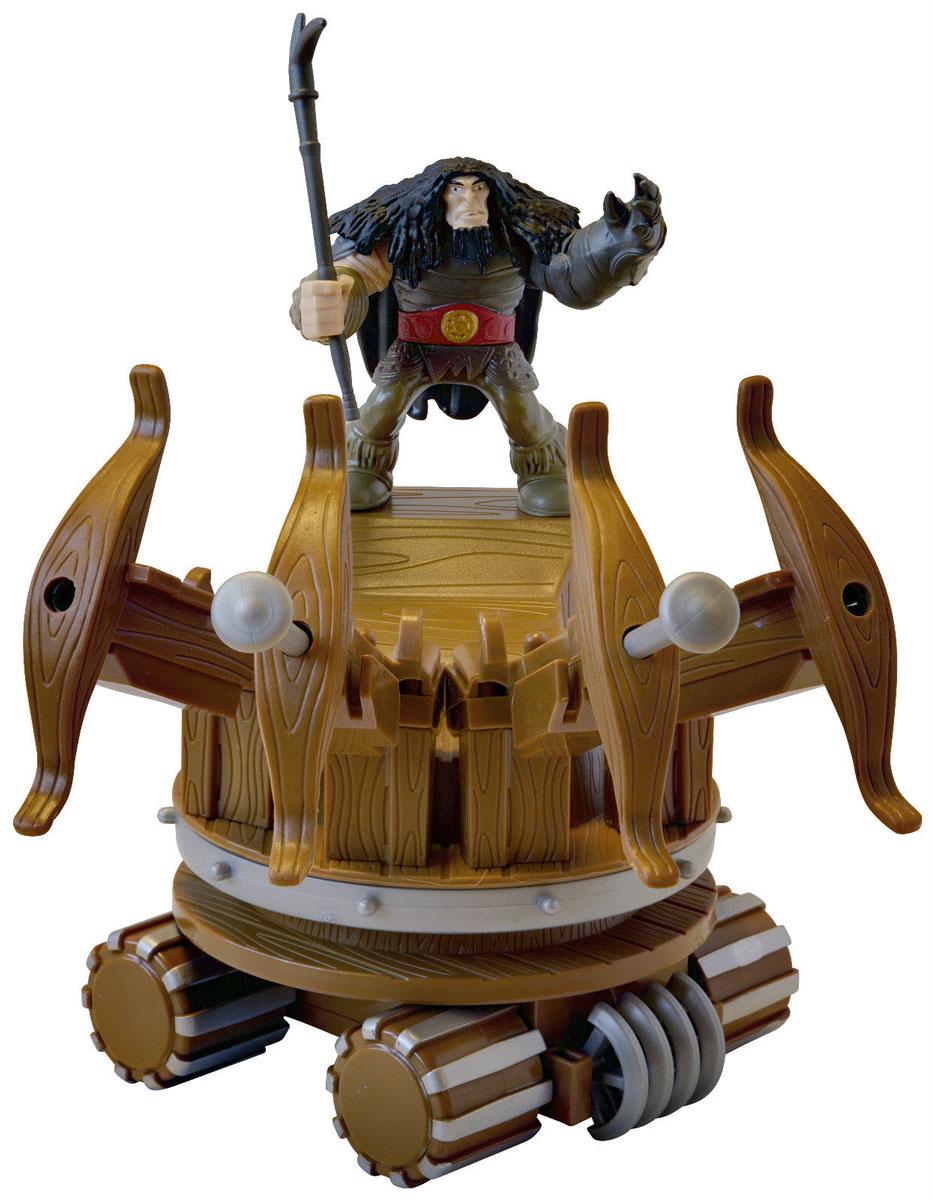Dragons Игровой набор Drago & War Machine66594_20067366Игровой набор Dragons Drago & War Machine создан на основе масштабных батальных сцен из мультфильма Как приручить дракона 2. По сюжету драконы сражаются против боевых машин. Набор включает в себя фигурку Драго с копьем, его боевую машину и две стрелы. Просто зарядите орудие стрелами и нажмите на рычажок - стрела тут же полетит вперед. С помощью этого набора для битвы ребенок воссоздаст картину сражения прямо в своей комнате и окунется в гущу событий мультфильма или будет придумывать свои истории!